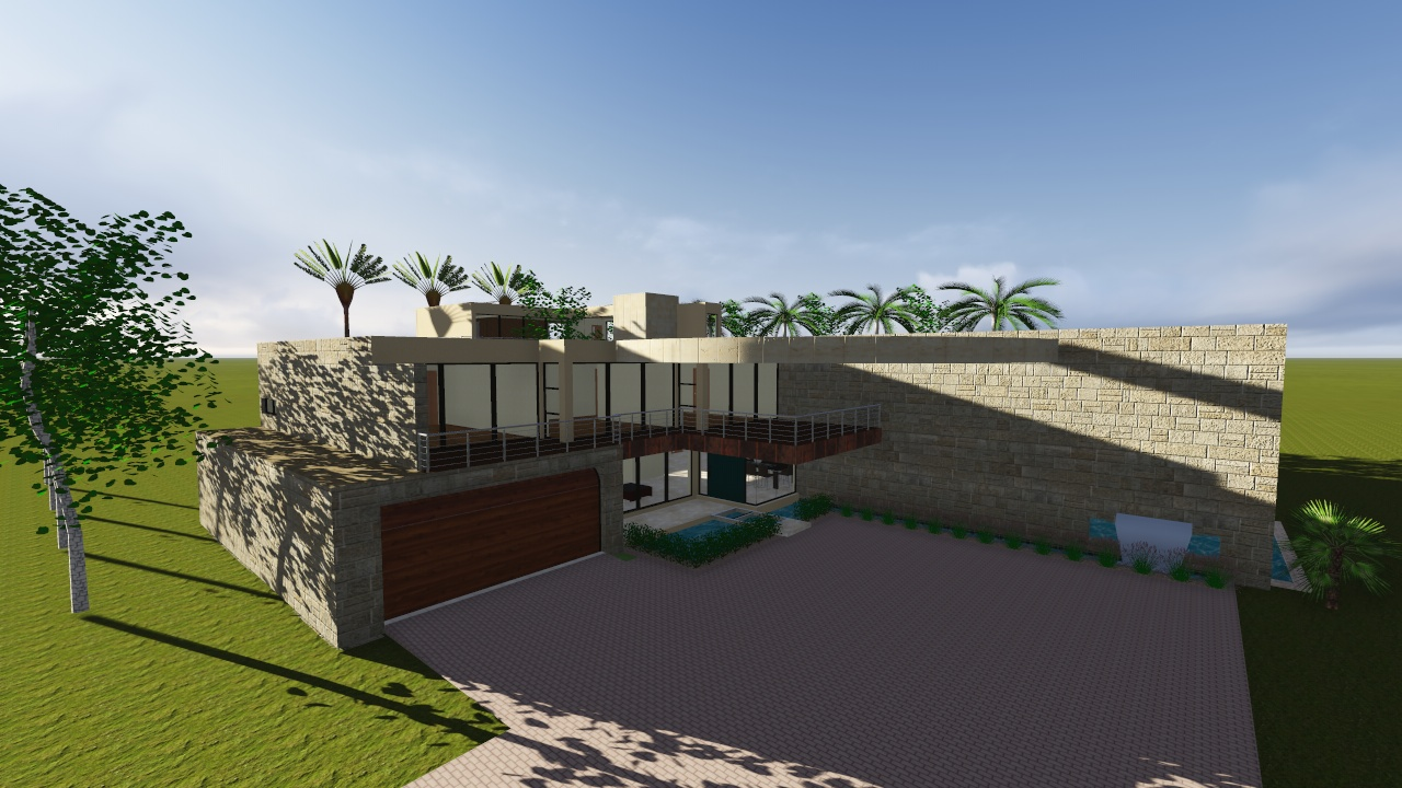 Vivienda unifamiliar concepto 701 nc arquitectura for Vivienda unifamiliar arquitectura