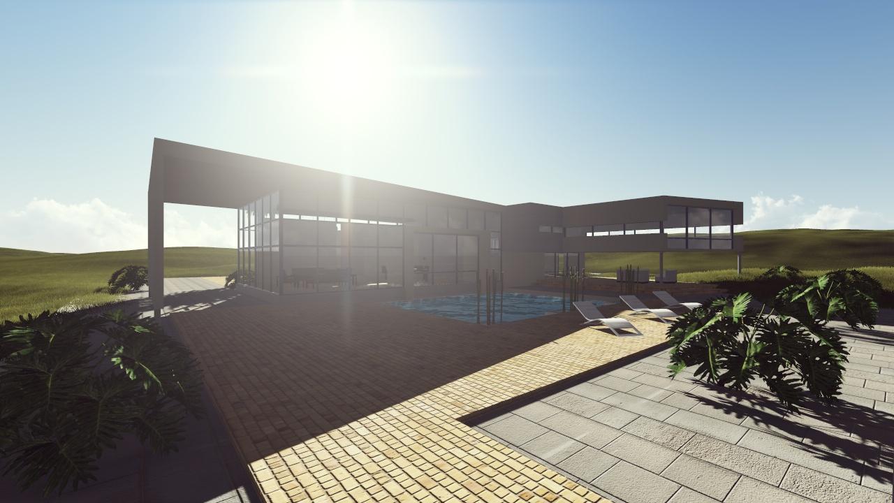 Vivienda unifamiliar en un acantilado junto al mar nc for Vivienda unifamiliar arquitectura