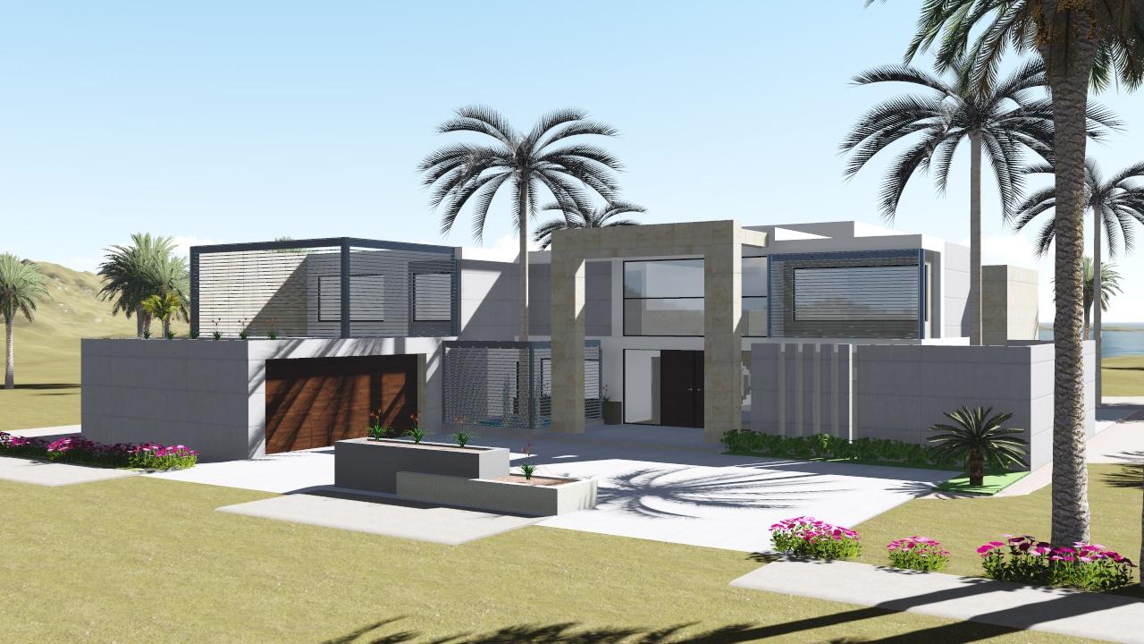 Vivienda unifamiliar en la costa nc arquitectura for Vivienda unifamiliar arquitectura