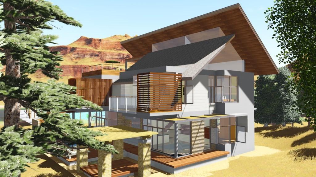 Vivienda unifamiliar de monta a nc arquitectura for Vivienda unifamiliar arquitectura