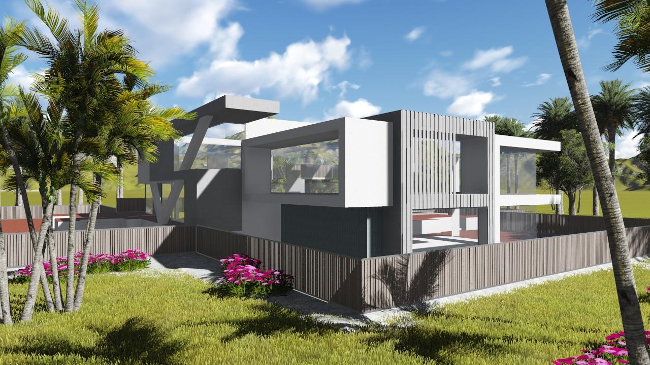 Vivienda unifamiliar concepto 503 nc arquitectura for Vivienda unifamiliar arquitectura