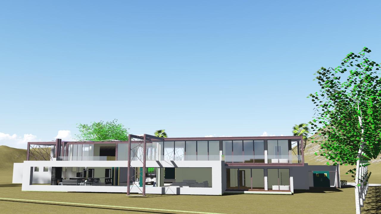 Vivienda unifamiliar concepto 707 nc arquitectura for Vivienda unifamiliar arquitectura