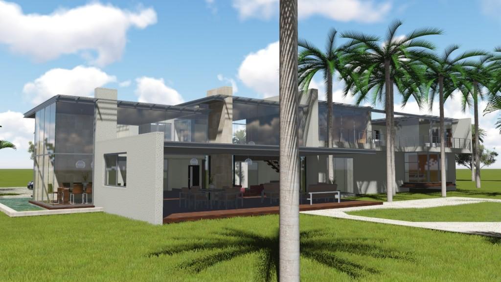 Vivienda unifamiliar en la pradera nc arquitectura for Vivienda unifamiliar arquitectura