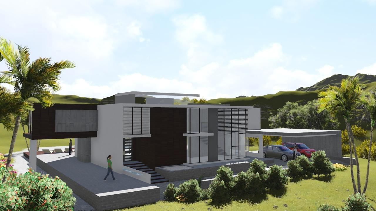 Vivienda unifamiliar concepto 711 nc arquitectura for Vivienda unifamiliar arquitectura