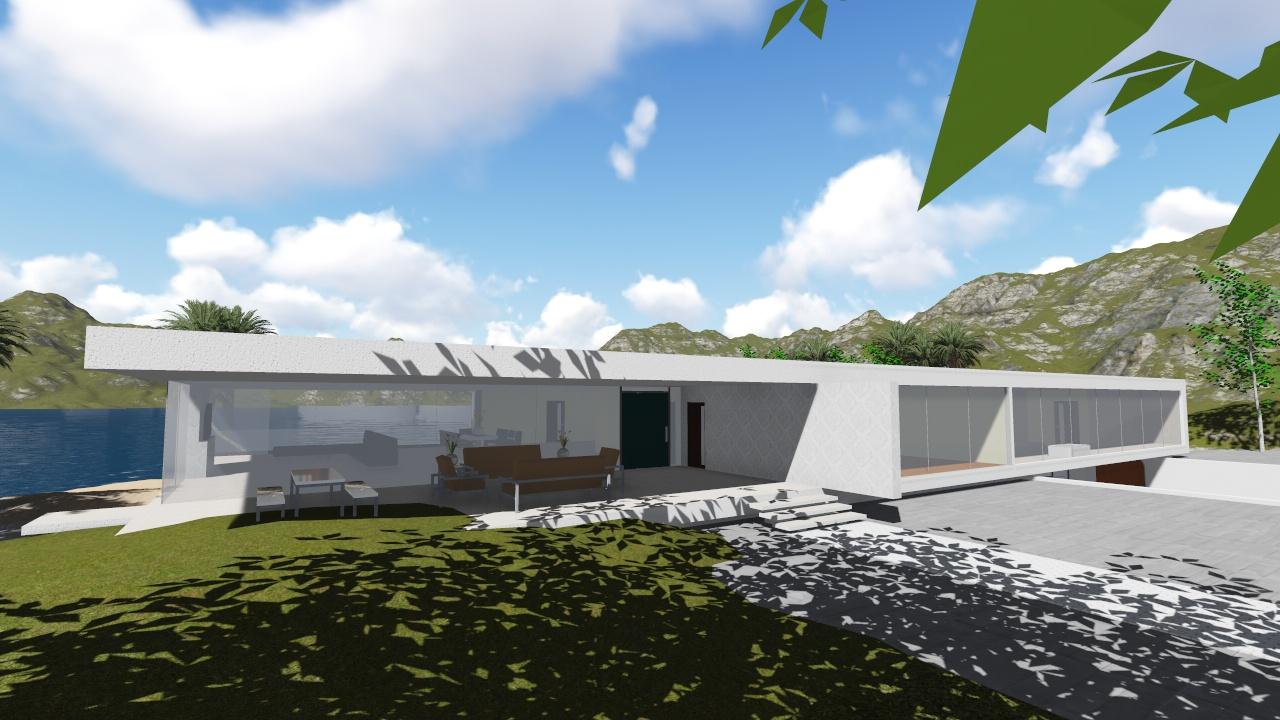 Vivienda unifamiliar concepto 105 nc arquitectura for Vivienda unifamiliar arquitectura